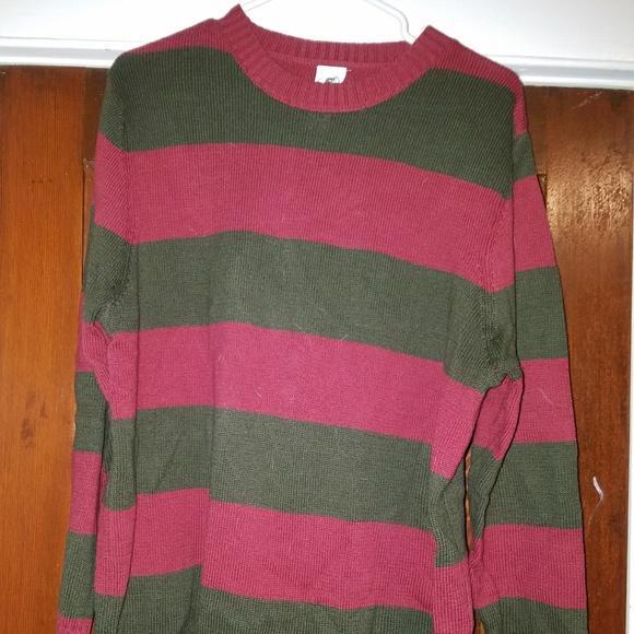 Spirit Halloween Sweaters Freddy Krueger Sweater Poshmark
